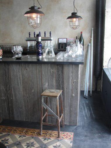 Habillage de bar