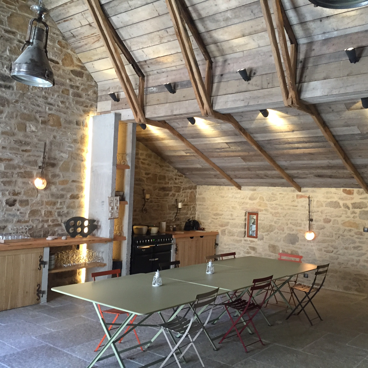 Habillage int rieur la grange bois - Habillage bois interieur ...