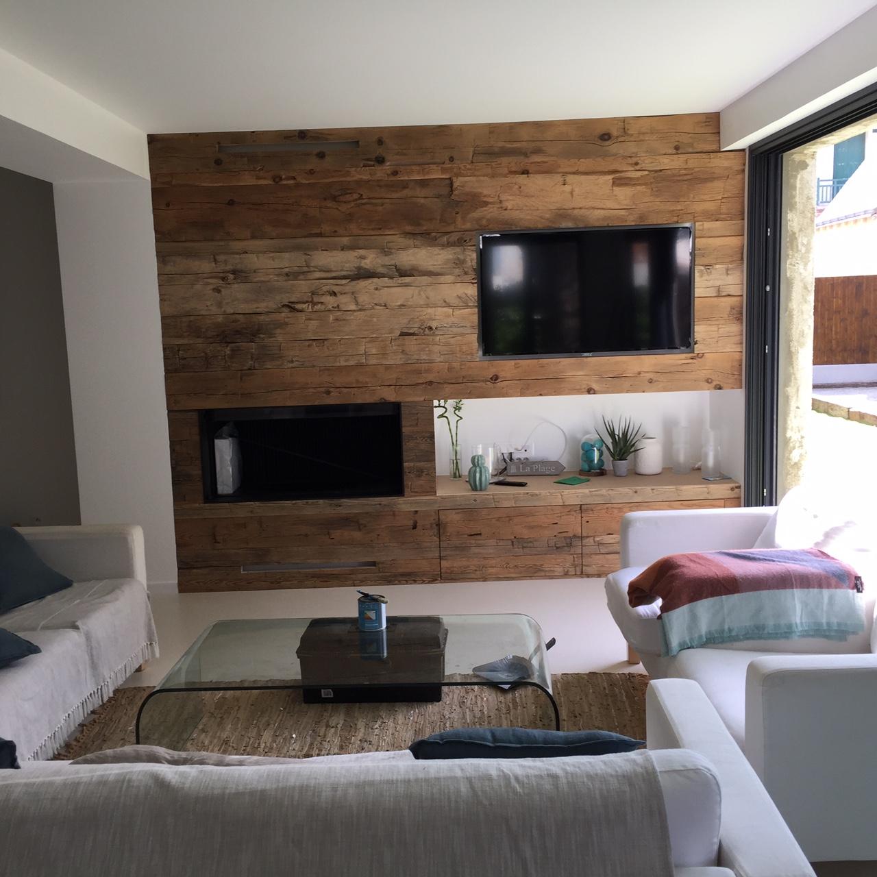 Habillage De Mur Intérieur habillage intérieur - la grange à bois